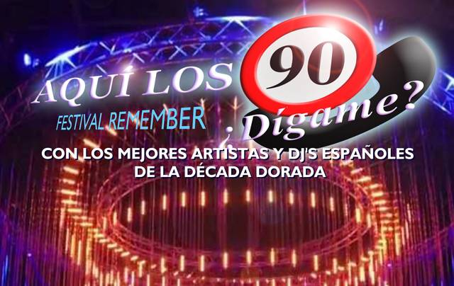 fIESTA DE LOS 90, NINENTYS PARTY, JERRY DALEY, VICTOR PEREZ, NEW LIMIT