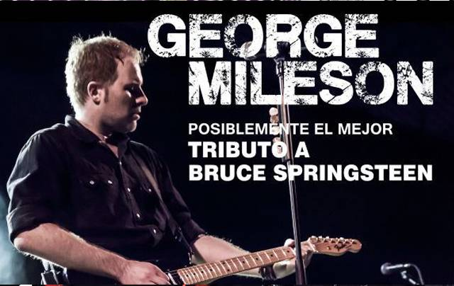 George Mileson es Bruce Springsteen